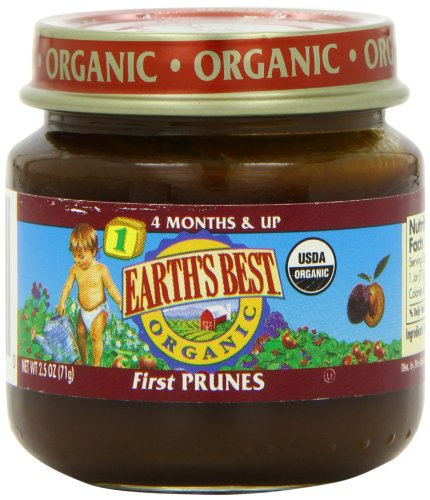 Earth's Best Organic Baby Food First Prunes 2.5 Ounce ...
