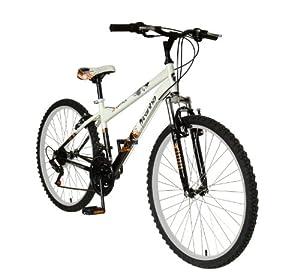 Piranha Men's Mindtrick Mountain Bike (White/ Black, 26