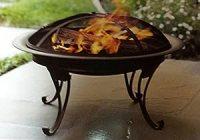 Amazon.com : Threshold Steel Fire Bowl : Patio, Lawn & Garden