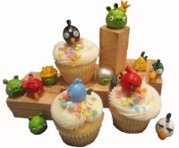 Angry Birds Cupcake Toppers  Cupcake Toppings