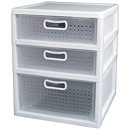 3-Drawer Unit, to put at the bottom of your wardrobe.