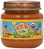 Earth's Best Organic Baby Food, First Carrots, 2.5 oz