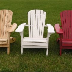 Big Daddy Adirondack Chair Dining Room Covers Christmas Deluxe White Cedar Folding Barn Red