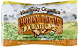 Heavenly Organics Raw Honey Pattie, Chocolate Ginger, 40-Count