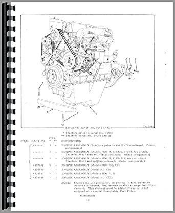 Allis Chalmers HD11E Crawler Parts Manual: Amazon.com