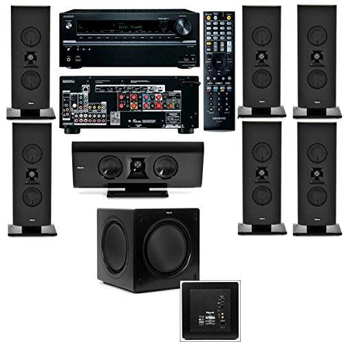 1 home theater system-sw-115-onkyo tx-nr636 7,klipsch gallery g-16 7,video review,2,(VIDEO Review) Klipsch Gallery G-16 7.1 Home Theater System-SW-115-Onkyo TX-NR636 7.2,