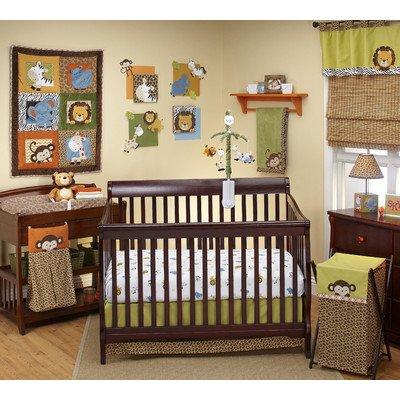Leopard Print Crib Bedding