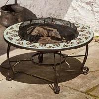 Amazon.com: Le Mans Fire Pit Table: Patio, Lawn & Garden