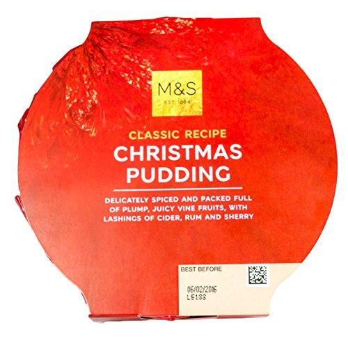 M&S / Marks & Spencer | 英国マークス&スペンサー クラシックレシピ クリスマスプディング 454g、英国より発送 | Classic Recipe Christmas Pudding 454g | From the UK
