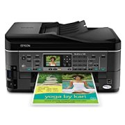 Epson WorkForce 545 Wireless All-in-One Color Inkjet Printer, Copier, Scanner, Fax, iOS/Tablet/Smartphone/AirPrint Compatible