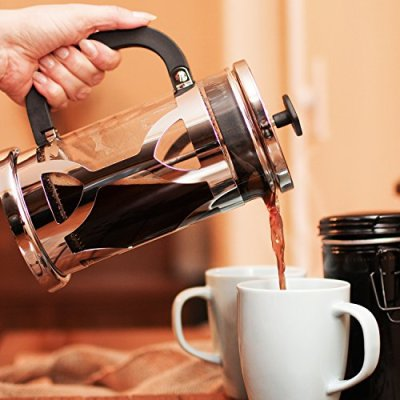 Chefs Star French Press In Use