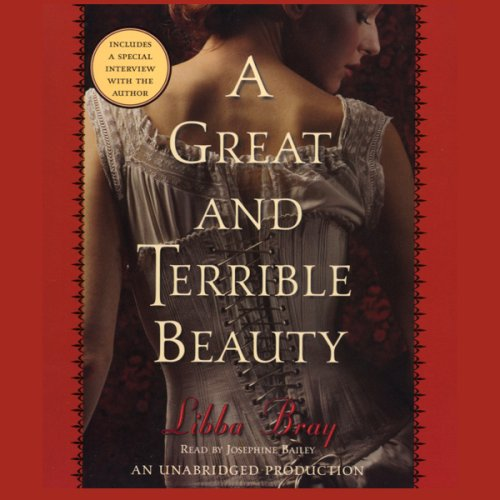 A great and terrible beauty audiobook cover