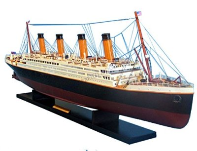 RMS-Titanic-40-Titanic-Model-Cruise-Liner-Wooden-Cruise-Ship-Museum-Qual