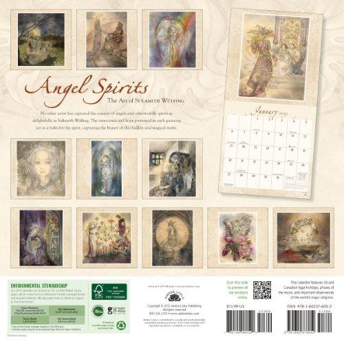 Angel Spirits 2013 Calendar: The Art of Sulamith Wulfing