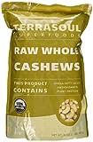 Terrasoul Superfoods Raw Organic Cashews (Whole), 2-pounds