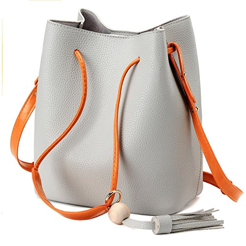 Bagerly Casual Hobo Bag Sling Crossbody Messenger Handbag Shoulder Bag Tote Purse