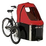 子供乗せ自転車 3ホイール 二ホラ電動自転車-自転車 安全 電動自転車 急速充電器付き NIHOLA Family Electric Bike -