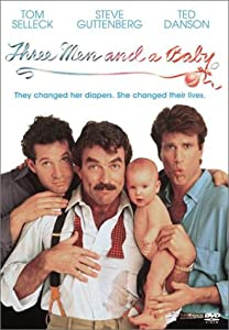 "Cover of ""Three Men and a Baby"""
