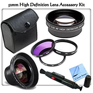 Amazoncom  High Definition Lens Accessory Kit For Nikon D3000 D3100 D3200 D3300 D5000