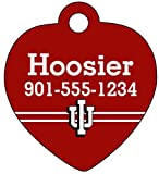 Indiana Hoosiers Personalized Dog Tag Cat Tag Pet Id Tag
