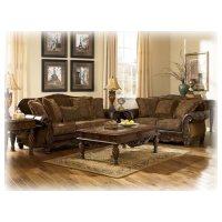 Amazon.com - Fresco DuraBlend - Antique 4 Pc Living Room ...
