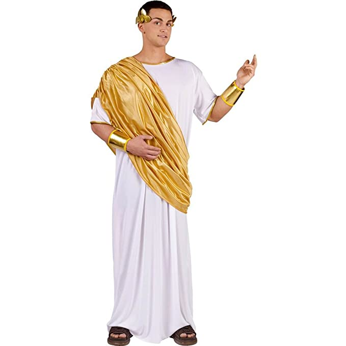 FunWorld Hail Caesar, White, One Size Costume