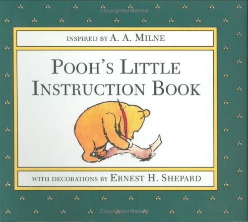 Pooh's Little Instruction Book