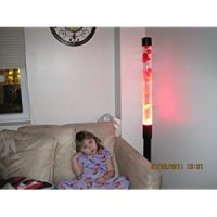 Cheap Lava Lite 2135: Tall Tower Lava Lamp Pink