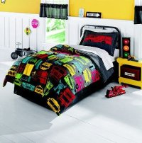 Fire Engine Twin Size Bedding Set, Fire, Free Engine Image ...