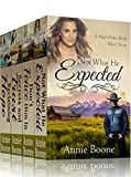 Mail Order Bride: Clean Western Romance Books 1-4: Mail Order Brides of the West