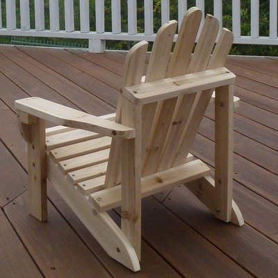 woodworking jam More Unfinished childs adirondack chair