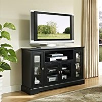 Amazon.com: WE Furniture 52-Inch Highboy Style Wood TV ...