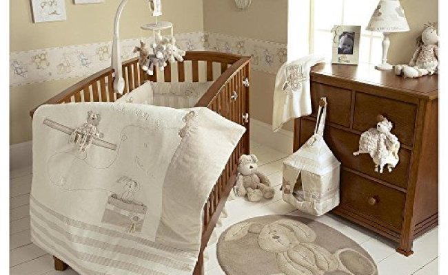 Mamas Papas Once Upon A Time Baby Bedding Set 4 Piece