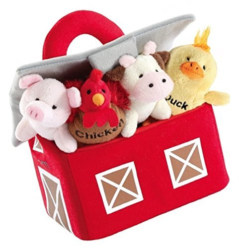 Talking Barnyard Friends Carrier With Sound