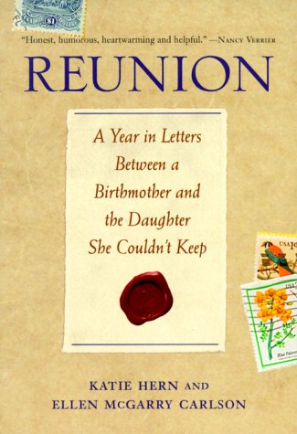 "Cover of ""Reunion: A Year in Letters Betw..."