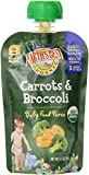 Earth's Best Organic Stage 2, Carrots & Broccoli, 3.5 Ounce Pouch (Pack of 12)