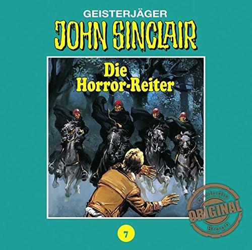 John Sinclair (7) Die Horror-Reiter (Jason Dark) Tonstudio Braun / Lübbe Audio 2016