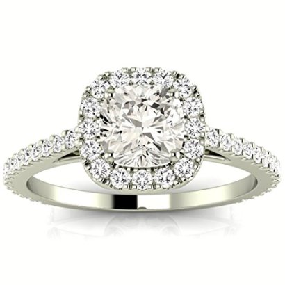 11-Carat-GIA-Certified-Cushion-Cut-14K-White-Gold-Gorgeous-Classic-Cushion-Halo-Style-Diamond-Engagement-Ring-G-H-Color-VS1-VS2-Clarity