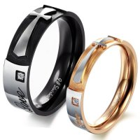 Couples Promise Rings Sets for Him and Her; His Hers ...