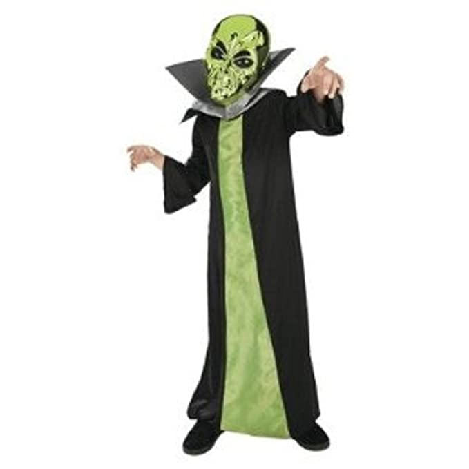 Spaced Out Alien Costume Childs Sz Small 4-6