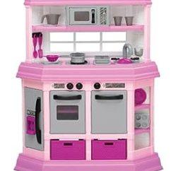 American Plastic Toys Custom Kitchen Espresso Cabinets Amazon.com: Toy Deluxe ...