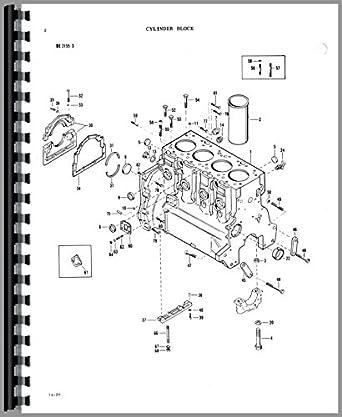 Massey Ferguson 180 Tractor Parts Manual: Amazon.com