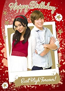 High School Musical 3 Troy & Gabriella Birthday Card