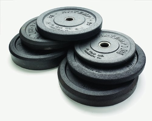 RAGE Fitness Hi Temp Olympic Rubber Bumpers