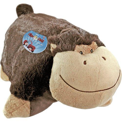 Pillow Pets PeeWees  Monkey New  eBay