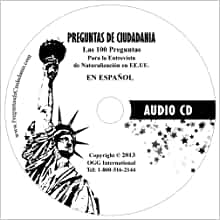 Las 100 Preguntas de Ciudadanía en Español para la