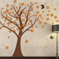 Cherry Blossom Wall Decals Baby Nursery Tree Decals Kids ...