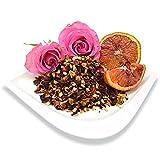 Organic Blood Orange Vanilla Rooibos, Loose Leaf Bag, Positively Tea LLC. (1 lb.)