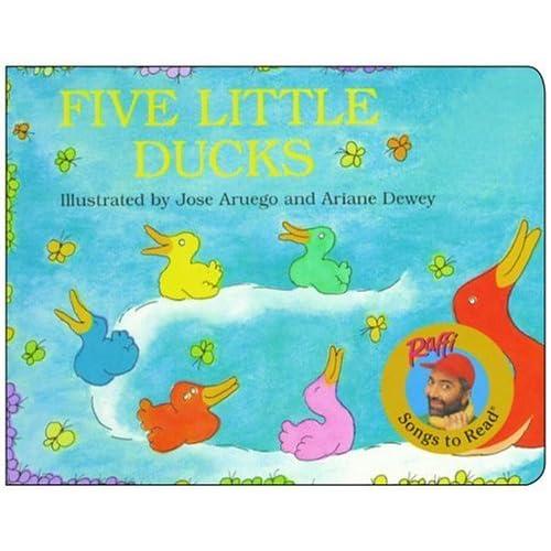 英文繪本:Five Little Ducks | 高高的異想世界