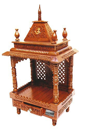 Buy Aarsun Wooden Temple Mandir 60 For Home & Office Online At
